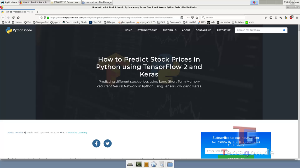 Tutorial: Aktienkurse vorhersagen mit künstlicher Intelligenz in Python