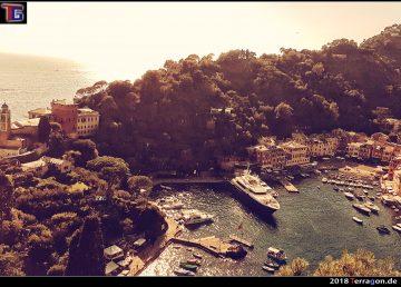 Das Fischerdorf mit Luxusboutiquen: Portofino