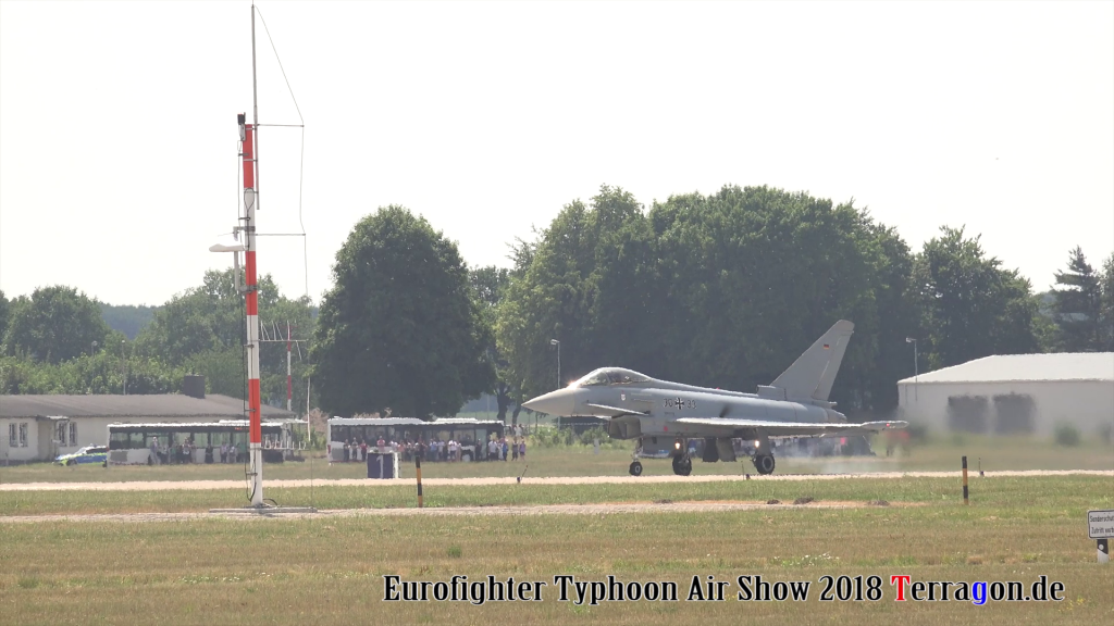 Eurofighter Typhoon: War die Fünfkammerrevolverkanone aktiv?